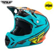 Fly 2017 Bike Werx Mips Rival Adult Helmet (Teal/Orange/Black)